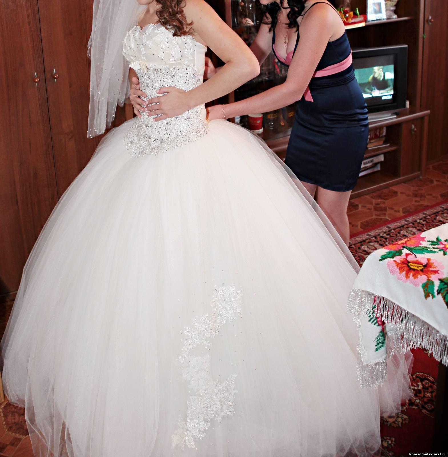 Свадьбенные Пышное Платья
