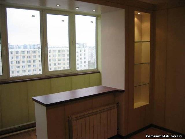 Как спрятать балконную дверь. - пластиковые балконные - ката.
